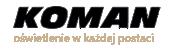 Żarówki samochodowe h1, h4, h7, xenon Osram, paski led, naświetlacz led, latarki profesjonalne, baterie, akumulatorki - Koman